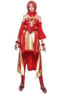 Dota2 Lina the Slayer Cosplay Costume Full Set