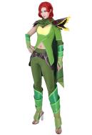 Dota2 Lyralei the Windranger Cosplay Costume Full Set