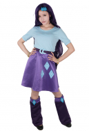Little Horse Girls Purple Cosplay Costume