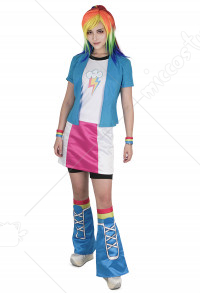Little Horse Girls Rainbow Cosplay Costume