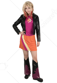 Little Horse Girls Sunset Shimmer Cosplay Costume