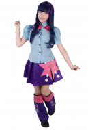 Little Horse Girls Twilight Sparkle Cosplay Costume