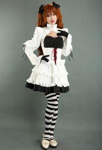 Neon Genesis Evangelion EVA Asuka Langley Sohryu Alter Cosplay Costume Gothic Lolita Dress , $59.99 (was $74.98)