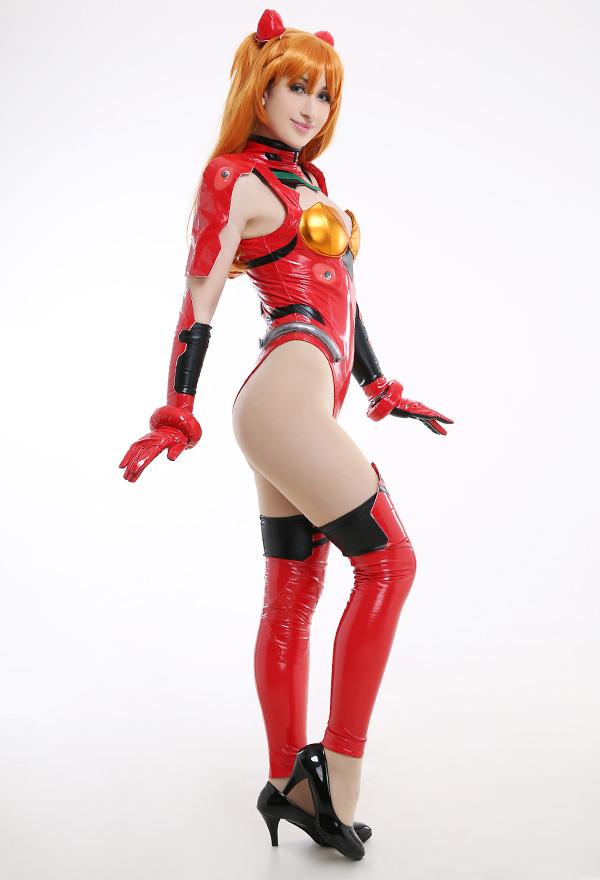 Neon Genesis Evangelion EVA Asuka Langley Soryu Body Uniform Cosplay Kostüm