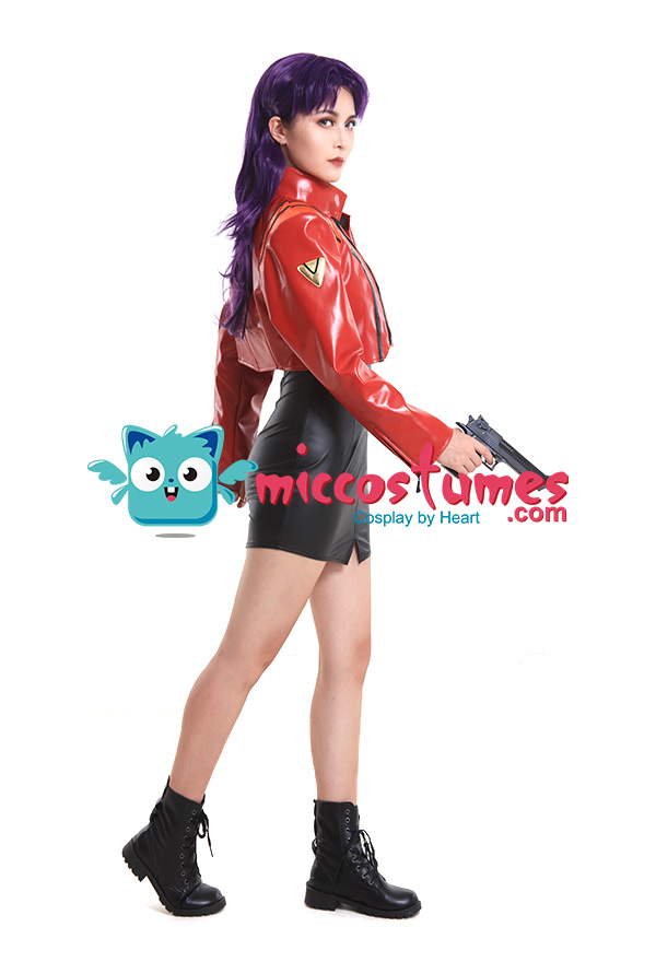 Neon Genesis Evangelion Katsuragi Misato Cosplay Kostüm