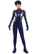Neon Genesis Evangelion 3.0 Shinji Ikari Black Plugsuit Cosplay Bodysuit Jumpsuit Costume