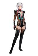 Neon Genesis Evangelion Ayanami Rei  Eva Garage Kit Ver Black Battle Jumpsuit Cosplay Costume