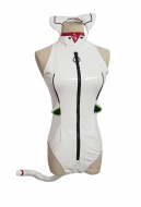 Neon Genesis Evangelion EVA Rei Ayanami Cute Cat Bodysuit Cosplay Costume