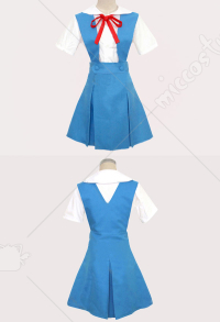 Neon Genesis Evangelion Asuka Langley Soryu Rei Ayanami Cosplay Costume Tokyo 3 No 1 Senior High School Girl School Uniform