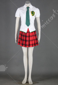 Evangelion EVA Costume de Cosplay Makinami Mari Illustrious JK Uniforme