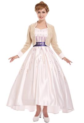 冰雪女王安娜公主連衣裙禮服裙cosplay服裝