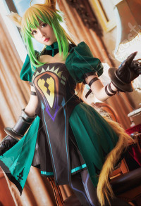 Fate Apocrypha Costume de Cosplay Ensemble de Jupe Atalanta Archer Red