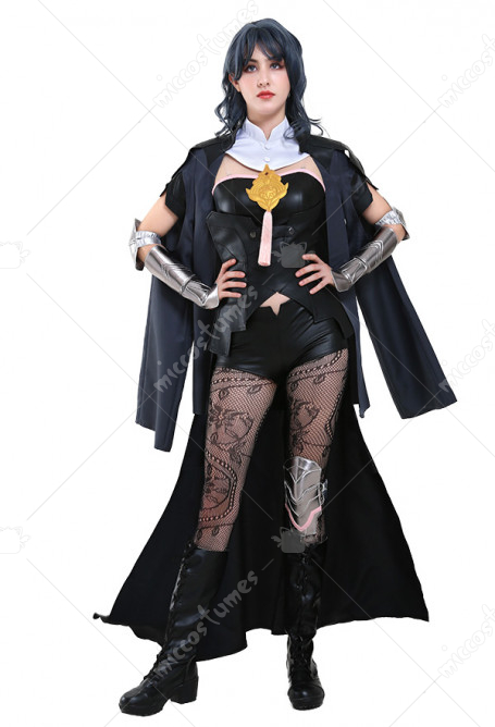 Fire Emblem Three Houses Byleth Female Main Protagonist Cosplay Costume Uniform