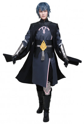 Fire Emblem Three Houses Byleth Male Main Protagonist Cosplay Costume Uniform