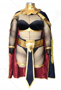 Plus Size Fire Emblem Awakening Tharja Cosplay Costume