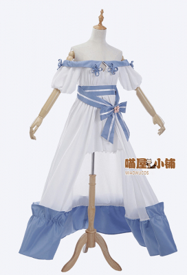 Miaowucos Final Fantasy XIV: Heavensward Cosplay Costume Off-the-shoulder Dress
