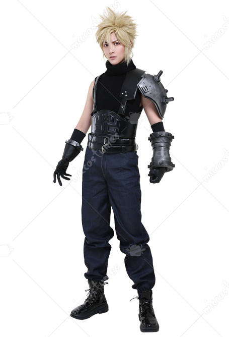 Nuevo traje de cosplay de Final Fantasy VII Remake Cloud Strife