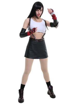 New Final Fantasy VII Remake Tifa Lockhart Cosplay Costume