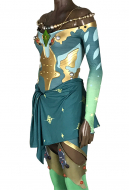 Final Fantasy IV: The After Years Rydia of Mist Rydia Cosplay Costume Cosplay Jumpsuit