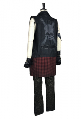 Deluxe Handmade Final Fantasy XV Prompto Argentum Cosplay Costume Including Leather Bracelet