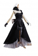 Miaowucos Fate/Grand Order Marie Antoinette Cosplay Black Dress