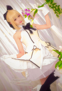 Miaowucos Fate/Grand Order Saber Lily Cosplay Costume