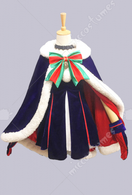 Fate/Grand Order Black Saber Christmas Costume FGO Luxury Suit Cosplay Costume