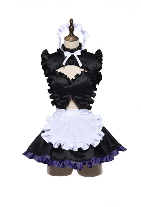 Fate/Grand Order Mash Kyrielight Maid Dress Cosplay Costume