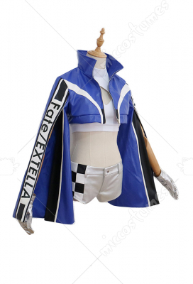 FGO Saber Nero & Tamamo no Mae Racing Suits Cosplay Costume