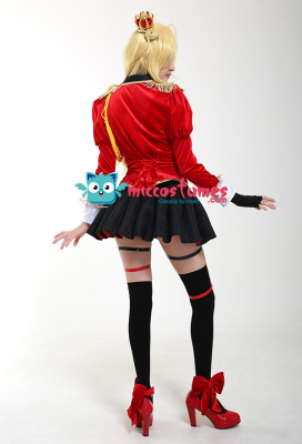 Fate Grand Order Nero Saber Glittering Ceremonial Dress Uniform Cosplay Costume