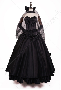 Fate / Stay Night Saber Altria Pendragon十週年婚紗禮服Cosplay服裝