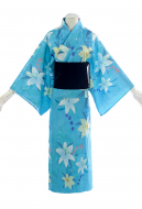 Fate/Grand Order White Archer Jeanne d'Arc Kimono Dress Cosplay Costume