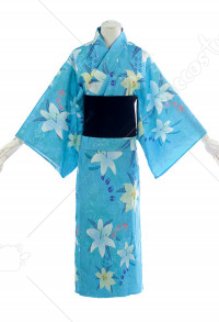 Destin / Grand Ordre Blanc Archer Robe Jeanne d'Arc Kimono Costume Cosplay