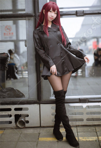 Fate Grand Order FGO Servant Scáthach Coat Cosplay Costume