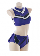 [Free Shipping]Fate/Grand Order Tamamo no Mae Two-piece Swimsuit Swimwear Cosplay Costume