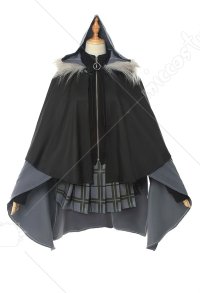 The Case Files of Lord El-Melloi II Costume de Cosplay Gray avec Cape