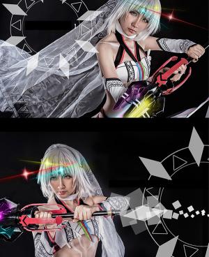 Fate/Extella Saber Attila Cosplay Costume