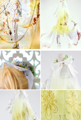Fate Saber Bride Cosplay Costume
