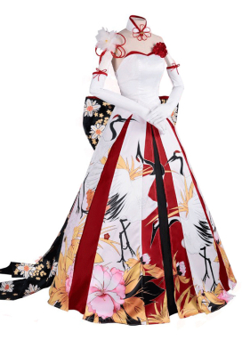 Delusion Fate Go Saber Cosplay Costume Dress