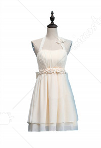 Fate Saber Altria Pendragon Cute Sweet Neck Halter Dress Cosplay Costume