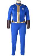 Plus Size Fallout 4 Female Sole Survivor Nora Cosplay Costume