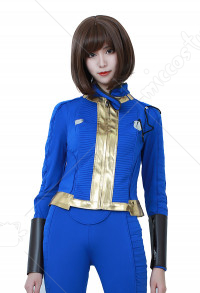 Fallout 4 Female Sole Survivor Nora Cosplay Costume Adult Vault Jacket