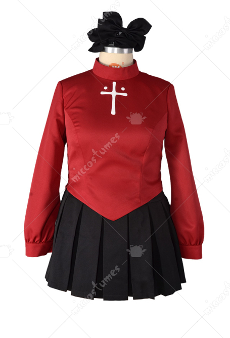 Plus Size Fate Stay Night Rin Tohsaka Cosplay Costume