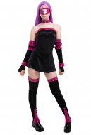 Fate Stay Night Rider Medusa Cosplay Costume with Eyepatch