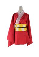 Gintama Kagura Original Version Cosplay Kimono Cosplay Costume