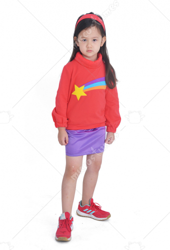 child gravity falls mabel pines costume clothes for girls halloween kids cosplay