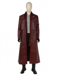 Star-Lord Costume Wind Coat Inspired by Guardian's of the Galaxy 2 Order to Made(Not Including the Shoes)