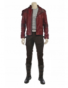 Superhero Star-Lord Short-length Costume Inspired by Guardian's of the Galaxy 2 (Not Including the Shoes) Order to Made