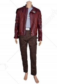 Superhero Star-Lord Short-length Costume Inspired by Guardian's of the Galaxy 2 (Not Including the Shoes) Make to Order
