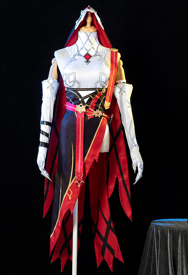 Genshin Impact Rosaria Cosplay Kostüm Handschuhe Armschmuck Cosplay Kostüm
